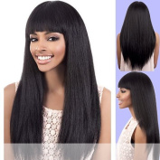 Y. MAXI (Motown Tress) - Synthetic Full Wig in JET BLACK by Oradell International Corporation
