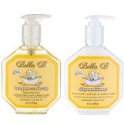 Bundle 2 Items Bella B Bee Gone Cradle Cap Shampoo + Bella B Silky Conditioner