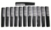Cripsy Unisex 23cm Breakable Hair Comb 12 Pieces Selection