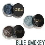 Cougar Beauty Products Mineral Eyeshadow Trio Blue Smokey