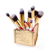 Cosmetic Makeup Brush DaySeventh 2016 New Arrival 10PCS Cosmetic Makeup Brush Brushes Set Foundation Powder Eyeshadow