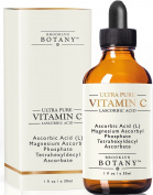 Ultra Pure Vitamin C Serum L Ascorbic Acid - Brooklyn Botany - Powerful Anti Ageing Serum Helps Fight Age Spots, Dark Cirlces, Fine Lines and Wrinkles - 30ml