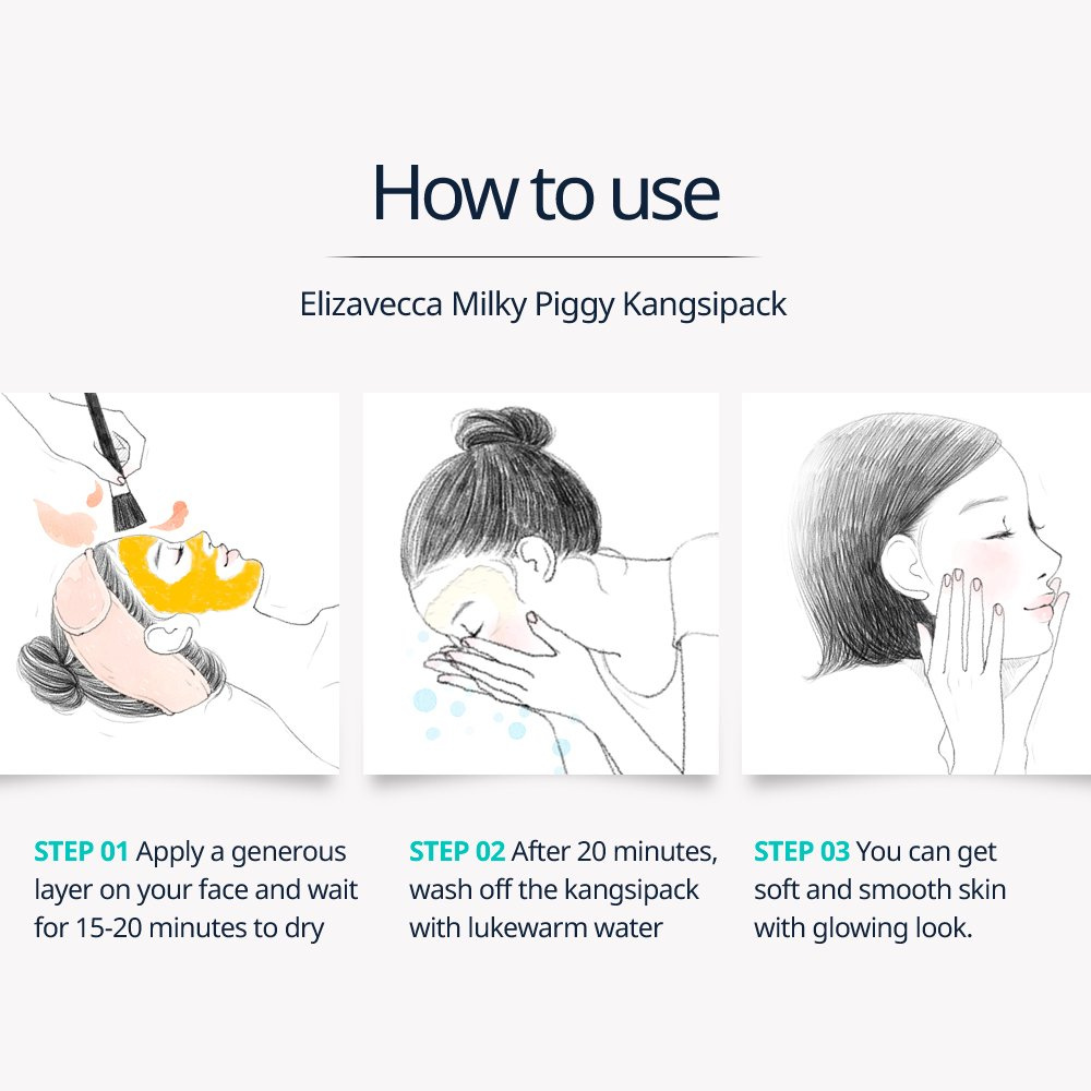 Elizavecca 24K Gold Mask, Blackhead Remover Mask, Deep Cleansing, Skin  softening Peeling face mask for Acne treatment whitehead pore care