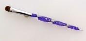 Kolinksy French Brush 666 Size #14 Spiral purple handle. Buy 5 any sizes get 1 DIAMOND super fast drying Topcoat 15ml FREE