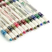 Kinghard Woman Glitter Lip liner Eye Shadow Eyeliner Pen Makeup Cosmetic Sets