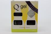QRS- Nail Lacquer and Q-Gel Duo- Raisin - S420 +G420 -. 150ml each