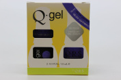 QRS- Nail Lacquer and Q-Gel Duo- Lightning Cloud - S354 +G354 -. 150ml each-