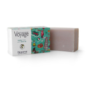 Naomi Dead Sea Cosmetics Handmade Natural Soap 140gr (150ml) Italian Soap Bar with Olive Oil Voyage Series Italy - Vanilla Pink Pepper - Olive Oil Vitamin A and E Apply for Face and/or Body