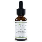 Retinol Serum - Highest Grade 2.5% With Jojoba Oil - Hyaluronic Acid - Vitamin A & E - Advanced Smoothing & Skin Brightening Formula