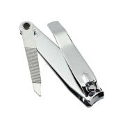 1 Pcs Cool Popular Toe Nail Cuticle Nipper Clipper Finger Care Cabinet Tool Handy Manicure Stainless Steel Colour Silver