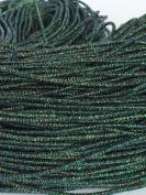 Green Metallic Glitter Elastic Stretch Shock Cord 2.5mm 18 yards