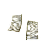 5 Pieces Jewellery Making Findings Antique Bronze Charms Craft Lots Repair Supplies Supply C9FS6 Haircomb Hair Comb
