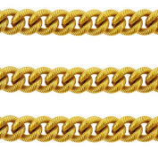 Premium Italian Natural Brass Chain, 13mm x 3, Heavy, Sold by Foot