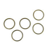 Price per 1350 Pieces Fashion Jewellery Making Charms Findings Arts Crafts Beading Antique Bronze Tone 07347 Jump Rings 12mm