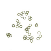 Price per 3480 Pieces Fashion Jewellery Making Charms Findings Arts Crafts Beading Antique Bronze Tone C2US7 Jump Rings 6mm