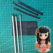 WellieSTR Set Of 3 Size Micro Hair Rooting Tool Hair Making Toll for Sculpture Polymer Clay, Fairies & Miniature dolls doll supplies