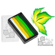 Silly Farm Rainbow Cakes - Light Leaf Arty Brush Cake