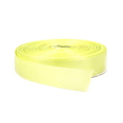 2.5cm Light Yellow Double Face Solid Grosgrain Ribbon 50 Yards-Roll Multiple Colours Available by Topenca Supplies