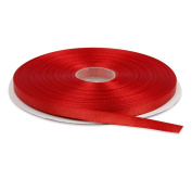 """¼"""" Solid Satin Ribbon 50 Yards-Roll Multiple Colours Available by Topenca Supplies"""
