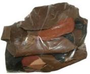 0.5kg. Leather Remnant Bag