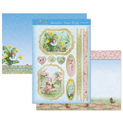Hunkydory Garden Secrets Special Little Girl Topper Set SECRET906