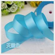 HG-X @ Fashion Pastel Colour Double Face Satin Ribbon Grosgrain Ribbon for Handcraft--25 Yards