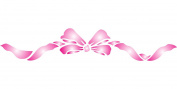 Border Ribbon Stencil - (size 36cm w x 6.4cm h) Reusable Wall Stencils for Kids Rooms - Best Quality Nursery Baby Room Stencil Ideas - Use on Walls, Floors, Fabrics, Glass, Wood, Terracotta, and More...