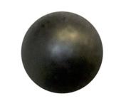 946.4lY: C.S.Osborne & Co. No. 7100-BLM 1/2 - Black Lacquer Matte Nail/ post : 1.3cm head