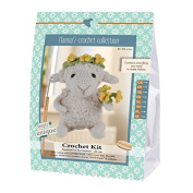 Go Handmade Helene The Sheep 20cm Crochet Needlework Kit, All Parts & Materials Included!