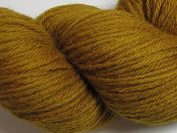 Wool Yarn - Worsted Weight, Naturally Dyed - Golden Yellow - By the Yard