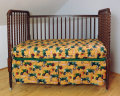 Oliver Tractors and Logo Fitted Crib Sheet
