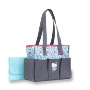 Hello Kitty 6-Pocket Tote Nappy Bag