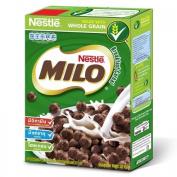 Nestle Milo breakfast cereals, chocolate malt 330 grammes.