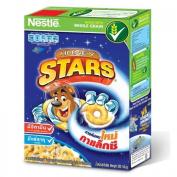 Nestle Honey Star's breakfast cereal. Corn, wheat, honey glazed baked 300 grammes.