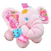 Cute Plush Lullaby Musical Elephant for Baby