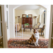 Carlson Super Wide Extra Tall Maxi Pet Gate, Slate Size