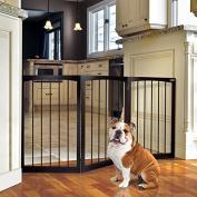 Animal Planet Free Standing Wooden Pet Gate