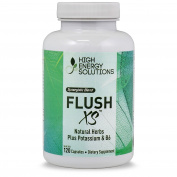 Flush XS Diuretics - Value Sized Bottle 120 Capsules | Natural Diuretic With Potassium Maximum Strength l Flushes Excess Water Loss l GMP - USA - 100% Guarantee