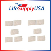 10-pack Humidifier Wick Filter for Vornado ufvmd1 MD1-1002 fits 1007, 3120-900, HUI-007, and HUI-0014 LifeSupplyUSA