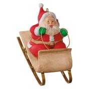 Hallmark 2016 Christmas Ornaments Sledding Santa