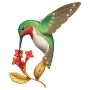 Hallmark 2016 Christmas Ornaments Dazzling Hummingbird