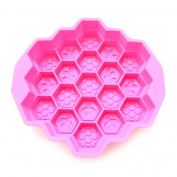 Branew Bee Cellular Honeycomb Mould Silicone Cake Mould Soap Mould Soap Mould Baking Moulds