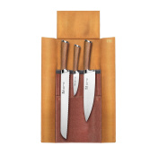 Cangshan H1 Series 59939 4-Piece Leather Roll Knife Set