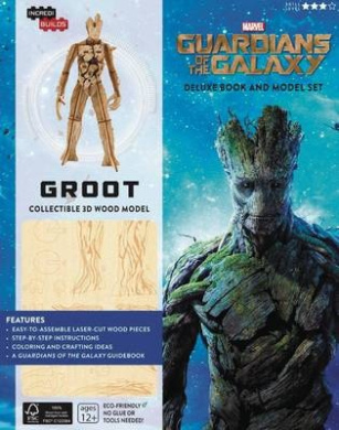 Incredibuilds: Marvel: Groot: Guardians of the Galaxy Deluxe Book and Model Set: A Guide to the Cosmic Adventurers (Incredibuilds)