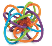 Manhattan Toy Winkel Rattle and Sensory Teether Activity Toy Chew