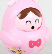 Infant Tumbler Toy Educational Toys Fall Nodding Doll for Baby Birthday Christmas Gift