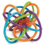 Manhattan Toy Winkel Rattle and Sensory Teether Activity Toy-NEW