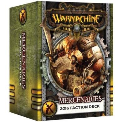 Warmachine Mercenaries: Faction Deck (Mk III)