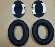JahyShow® US Ship Repalcament Ear Pad Cushion EarPad Repair Parts Ear Cups Ear Cover for Bose QuietComfort QC15 QC2 AE2 AE2I Headphones