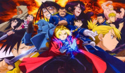 Full Metal Alchemist TCG playmat, gamemat 60cm wide 36cm tall for trading card game smooth cloth surface rubber base